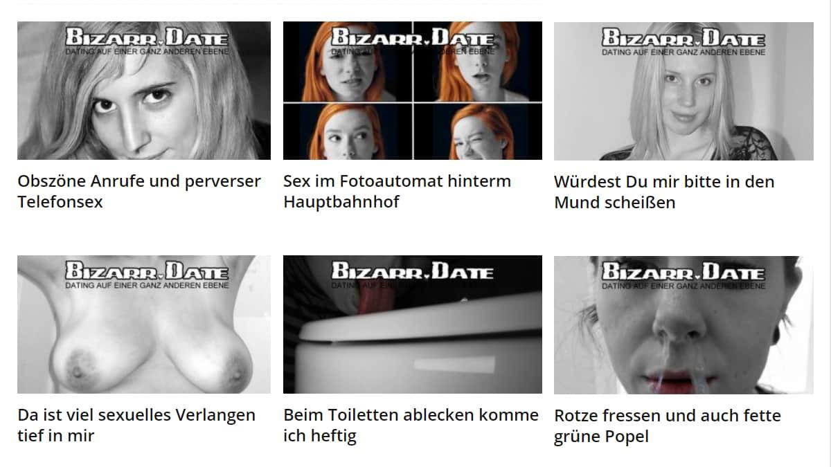 BIZARR.DATE - PRIMITIV - PERVERS - GEIL